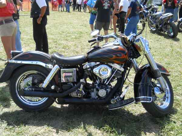 Nice Shovelhead - don't these much anymore!