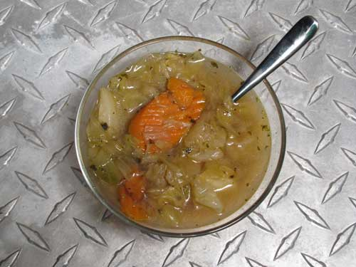 Cabbage and Carrot Soup