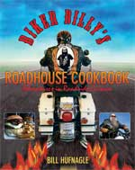 Biker Billy Roadhouse Cookbook Cover